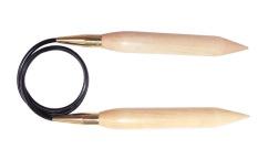 Jumbo Birch Grobstricknadeln 20mm / 25mm / 30mm/ 35mm  - KnitPro 80cm / 100cm / 120cm /150cm