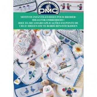 """DMC Stickvorlagen-Heft - Stickideen """"Baby"""" 12805"""