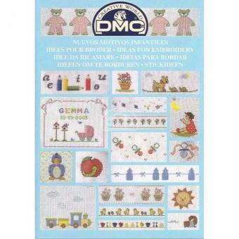 """DMC Stickvorlagen-Heft - Stickideen """"Baby"""" 14226"""