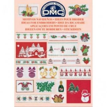 """DMC Stickvorlagen-Heft - Stickideen """"Weihnachten"""" 14086"""