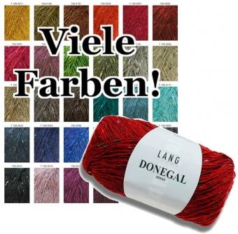 Donegal Tweed Strickgarn - Hochwertiges, irisches Tweedgarn - Lang Yarns - GROßE AUSWAHL!