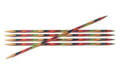 "KnitPro Symfonie Stricknadeln - Nadelspiele ""DPNs"" 10cm / 15cm / 20cm Länge 2,75 mm / 10cm Länge"