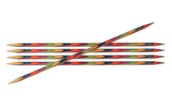 "KnitPro Symfonie Stricknadeln - Nadelspiele ""DPNs"" 10cm / 15cm / 20cm Länge 5,50 mm / 20 cm Länge"