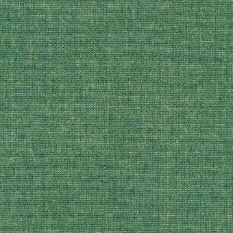 Smaragdgrün-Gold Schimmer - Weicher Leinen & Baumwollstoff - Emerald Essex Yarn Dyed Metallic Patchworkstoff