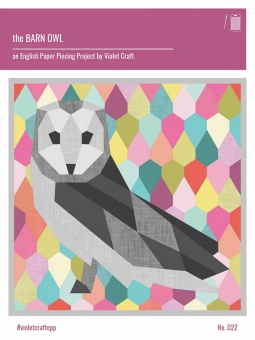 The Barn Owl Quilt  - Eulen Quilt by Violet Craft - Anleitung / Schnittmuster Eule