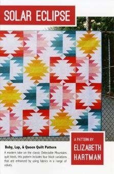 Solar Eclipse Quilt Pattern by Elizabeth Hartman - Patchworkdecke Schnittmuster