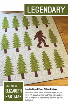 Bigfoot Patchworkdecke - Legendary Quilt Pattern by Elizabeth Hartman