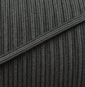 Schwarzes 5mm Gummi / Gummitwist / Gummiband / Elastic - Elastisch für Behelfsmasken & Babykleidung - METERWARE