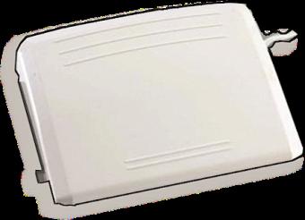Großer, weißer Anlasser / Gaspedal / Fußpedal - ELNA Zubehör