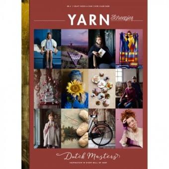"""Scheepjes YARN Nr. 4 Book-A-Zine - """"The Dutch Masters Issue"""" Strickzeitschrift / Häkelmagazin"""
