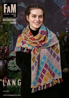 FAM Donegal Tweed & More - Fatto A Mano 258 Strickmagazin - Lang Yarn Strickheft Home & Accessoires