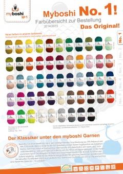 myboshi original No.1 Wolle - Trendsetter Häkelgarn!