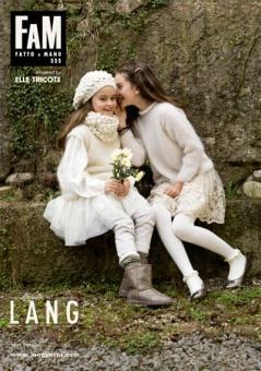 FAM Elle Tricote - Fatto A Mano 222 Strickmagazin - Lang Yarn Strickheft für Babies & Kleinkinder