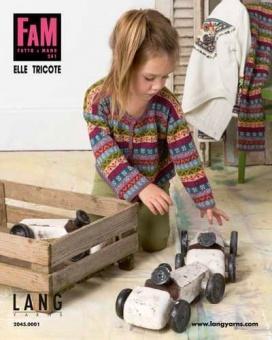 FAM Elle Tricote - Fatto A Mano 241 Strickmagazin - Lang Yarn Strickheft für Babies & Kleinkinder