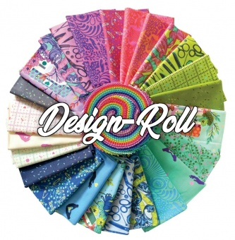 40er Stoffschnecke HomeMade Tula Pink Designerstoffkollektion Design Roll- FreeSpirit Patchworkstoffe Stoffpaket