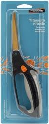 Fiskars Soft Touch Stoffschere - Titanium Nitride