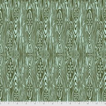 FLANELL! Pine Fresh Yule Log Holzmaserung - Tula Pink Designerstoff - Holiday Homies Flannels Weihnachtsstoffe - VORBESTELLUNG JUNI 2021!