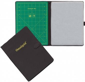 """Omnigrid 2-in-1 Fold-Away - Schneidematte & Bügelmatte als Kursfolder - 9"""" x 12 inches"""