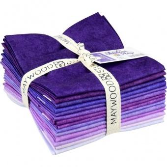 14 FQ Shadow Play Purples - Maywood Studios Fat Quarter Paket Violett & Lilianuancen