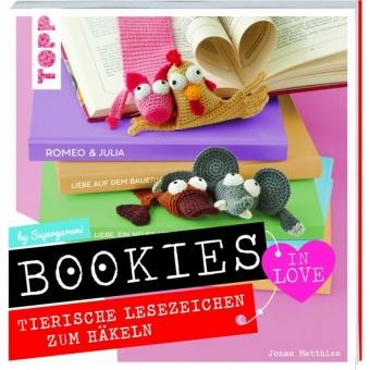 Bookies in Love - Tierische Lesezeichen zum Häkeln by Supergurumi