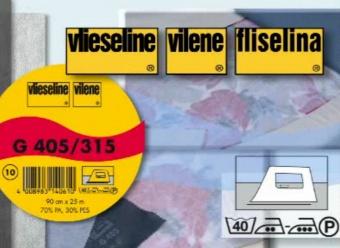 G 405 - Vlieseline Bügeleinlage Softline - 25m Rolle