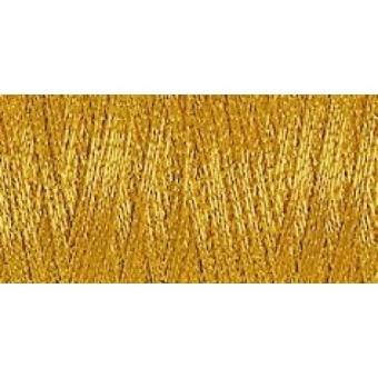 Gold - SULKY Metallic 200 m / 7011 200m - Metallicfaden / Metallicnähegarn / Metallicstickgarn