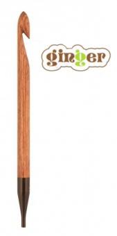 KnitPro Ginger - Auswechselbare tunesische Häkelnadeln / afghanische Häkelhaken  in Treibholz-Optik