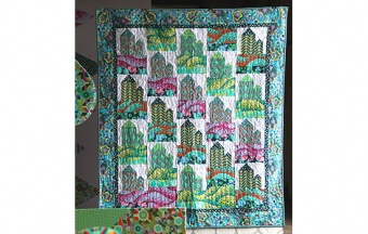 The Glow House Quilt by Amy Butler - Quilt Anleitung - GRATIS DOWNLOAD