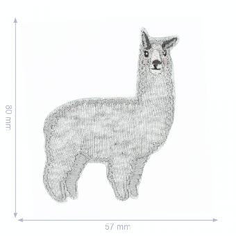 Alpaca Flicken - Lama Aufnäher - Alpaka Bügelapplikation