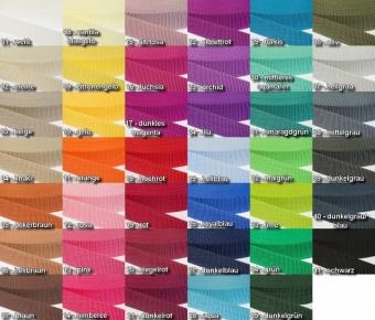 20mm Diverse Farben Gurtband / Gurtbänder Polypropylen - 2cm