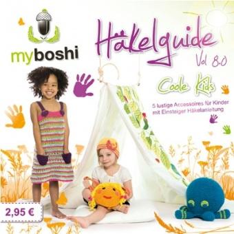 Häkelguide Vol 8.0 myboshi original - Coole Kids Guide Sommerideen für Kinder