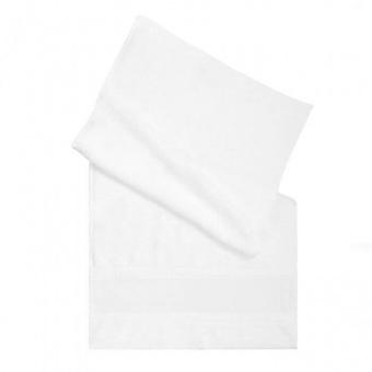 Bestickbares, weißes Frottier-Handtuch zum Besticken -  50x100cm - Tissu de Marie