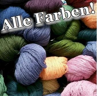 Hanf Natur Bicolor - ALLE FARBEN! - Atelier Zitron Strickgarn