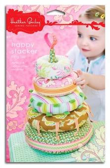 Happy Stacker Ring Toy - Heather Bailey - Babyspielzeug