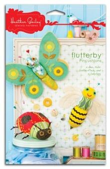 Flutterby Pincushions - Heather Bailey - Nadelkissensammlung