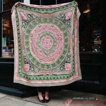 Scheepjes CAL 2020 d'Histoire Naturelle Crochet Along - Offizielle Colour Crafter Garnpackung Herbarium