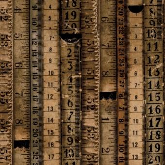 Tape Measures - Maßbänder - Tim Holtz Eclectic Elements Dapper