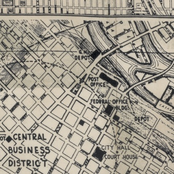 Street Maps - Stadtplan -Tim Holtz Eclectic Elements Dapper