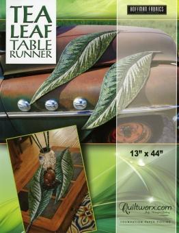 Tea Leaf Table Runner - Jinny Beyer Schnittmuster Quiltworx