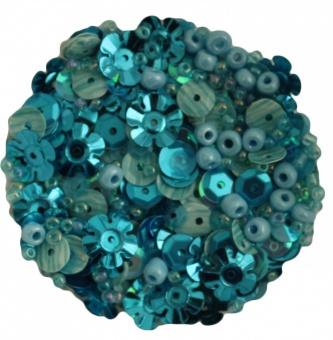 Aqua Dreams Perlen- und Paillettenset 28 Lilac Lane
