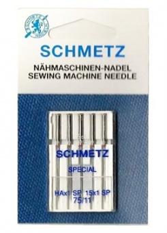Super Stretch Nähmaschinen-Nadeln - Schmetz Stretchnadeln - Nähmaschinennadeln No. 75/11 HAx1 SP