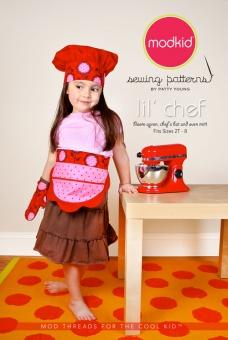 Modkid Lil' Chef  Für den kleinen Küchenchef -Schnittmuster