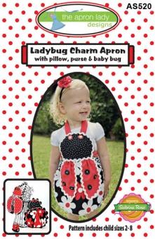 Ladybug Charm Apron - Kinderschürze Schnittmuster