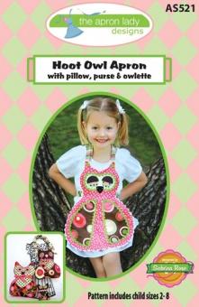 Hoot Owl Apron - Kinderschürze Schnittmuster