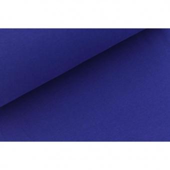 Kobaltblaues Bündchen Schlauchware Kobalt