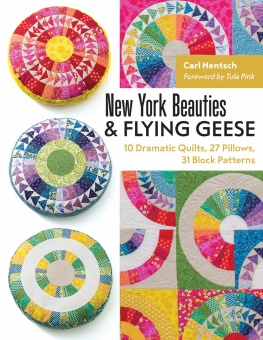 New York Beauties & Flying Geese Tula Pink Carl Hentsch