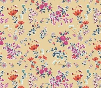 Boho Cottagely Posy  Floral Elements Basicstoff - Art Gallery Fabrics