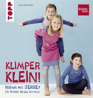 Klimperklein Nähen mit Jersey -  für Kinder Gr. 104-164