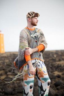 DEUTSCH! Marled Magic Sweater by Stephen West - Deutsche Westknits Pullover Strickanleitung