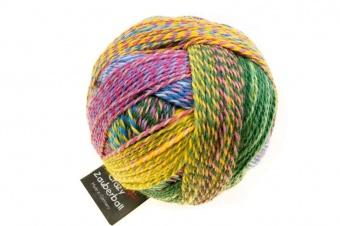 Crazy Zauberball Sockengarn mit Farbverlauf - Schoppel Sockenwolle Malerwinkel 2334
